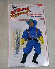 Vintage El Corros Zorro General Hopkins MoC Mego style Western figure European