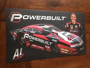 Rate !! Alex Laughlin Powerbuilt Handout Postcard