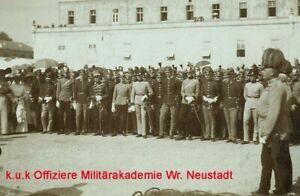 K.u.k Foto Offiziere MilAk Wr.Neustadt vor 1wk ww1 kuk officers military academy