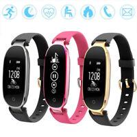 Fashion Lady S3 Women Smart Bracelet Watch Wristband BT4 Waterproof Android IOS