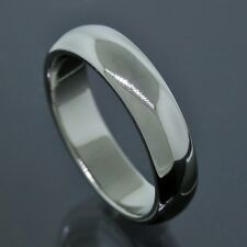 Tiffany & Co. Platinum PT950 4.5MM Wide Wedding Band Ring Size 5.75