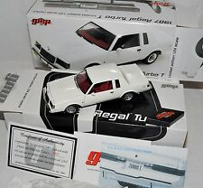 1/24 GMP 1987 Buick Regal Turbo-T WHITE w/COA #8204 1of300 grand national 87 gnx
