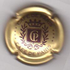 Capsule KRITER, CAFE DE PARIS or et bordeaux