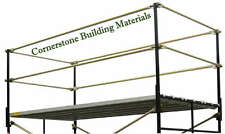 A Set new fall protection 5' X 7' commercial Scaffolding Guard Rail system CBM