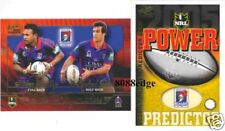 2005 SELECT NRL PLAYMAKERS REDEMPTION #PM7: ANDREW JOHNS + THAIDAY/240 KNIGHTS