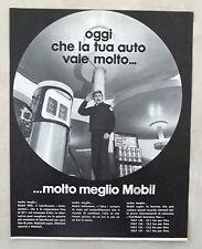 E261-Advertising Pubblicità-1975 - MOBIL SHC LUBRIFICANTI