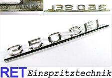 Emblem 350SEL Heckklappe 116811415 Mercedes Benz W 116 original Chrom