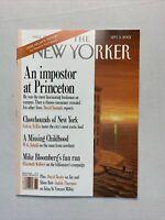 The New Yorker Magazine September 2001 - Guy Bourdin