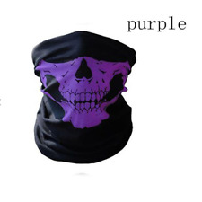 Skull Mask Skeleton Outdoor Bicycle Multi function Neck Warmer Ghost Scarf