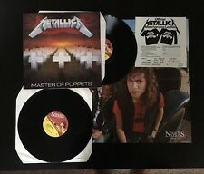 METALLICA Master of Puppets 2LP Gatefold  MFN 60 DM with poster! Unplayed!
