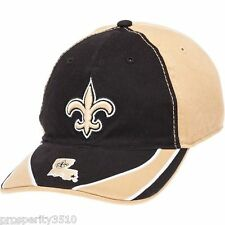 New Orleans Saints 47 Brand Strong Arm Stretch Fit NFL Fitted Baseball Hat Cap