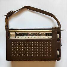 Vintage 1960's Hayakawa Sharp Transistor Portable Radio Made In Japan
