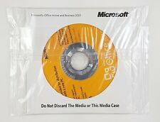 Microsoft Office 2010 Home and Business OEM DVD VERSIONE COMPLETA INGLESE NUOVO