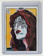 Ace Frehley KISS Ultra Premium Deluxe Artist Signed Sketch Card Ramacci/Nicieza