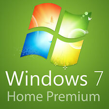 Windows 7 Home Premium 32+64 Bit Vollversion