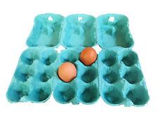 51 Contenitori/Confezioni porta uova da 6, in colore Verde