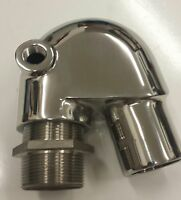 GMP Stainless Steel Polished Exhaust Mixing Elbow Replaces 128370-13600 GM/QM