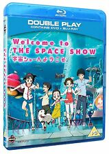Welcome To The Space Show Movie Blu-ray & DVD New & Sealed ANIME Region B 2 MN