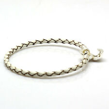 Genuine Leather 925 Silver Bracelet for European Sterling Charm Jewelry Lot Bead