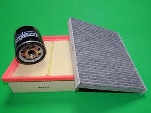 Ölfilter Luftfilter Aktivkohle Pollenfilter Ford Fiesta VI 1.0 Benziner