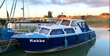 Dutch Steel Motor Cruiser 30 foot 7 Berth De Meeuw Leisure Live-aboard Boat