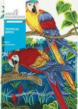 Tropical Birds Anita Goodesign Embroidery Machine Design CD