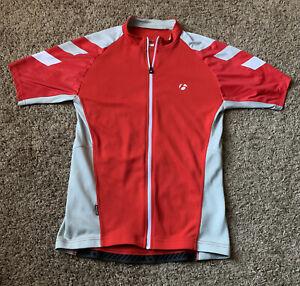 Bontrager Men's Red Trek Rhythm Tech Shirt Sleeve Cycling T-Shirt US S