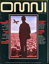 Omni Magazine April 1980 Ray Bradbury EX No ML 101416jhe