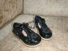 INFANT GIRL BLACK DRESS SHOES UK5 EU22 reg fit ex display
