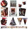 Star Wars The Force Awakens Party Tableware Boys Birthday Party Decoration Kids