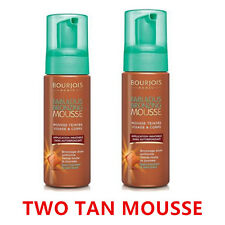 TWO Bourjois Fabulous Bronzing TAN Mousse Foam for Face and Body Made In France
