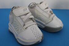 Nike Air Jordan Cp3 Iv Chris Paul~Infant Baby~Size 2C~White-Gray~2010~428824 -104
