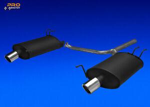 Auspuff Duplex Schalldämpfer Gehäuse Y-Rohr Honda Accord 7 VII Tourer Kombi