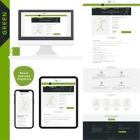"""eBay Template Auktionsvorlage """"GREEN""""  Modern, Clear & Responsive Design. 2020!"""