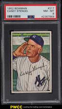1952 Bowman Casey Stengel #217 PSA 8 NM-MT (PWCC)