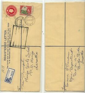 Basutoland, Butha Buthe  registered cover  nice item           MS0527