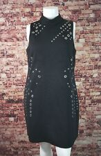 Tahari ASL Black  Career Cocktail Sheath Dress Size 16