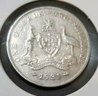 1931 Australian florin - EF