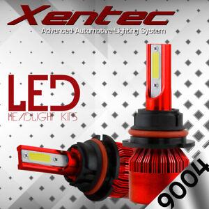 2x 9004 HB1 LED Headlight Kit Bulb for Dodge Ram 1500 2500 High Low Beam Light