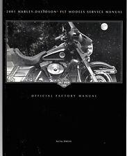 Harley-Davidson 2001 FLT / Touring Models Service Manual P/N 99483-01
