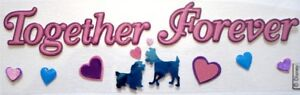 DISNEY TOGETHER FOREVER Lady and the Tramp Dogs Stickers