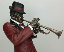 Jazz Band Collection - Trumpet Player Home Decor Statue Sculpture Figurine