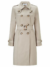 Knee Length Popper Trench Coats & Jackets for Women