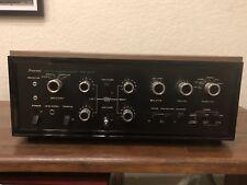 Vintage Sansui AU-777 Integrated Amplifier In Wood Case Works Great