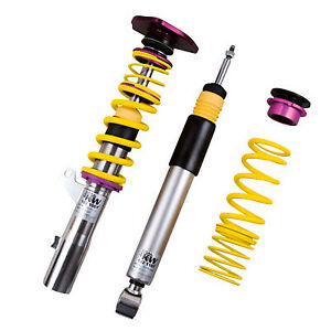 KW 2-Way Adjustable Clubsport Coilover Kit w/ Top Mounts Fits BMW E36 3 Series