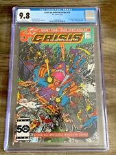 Crisis On Infinite Earths #12 (Wally West new Flash) CGC 9.8 DC Comic 1986