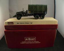 SIBUR n° 400 GMC 353 camion militaire bâché Le Cantal neuf en boite 1/50 MIB