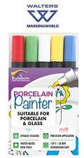 Rainbow PORCELLANA pittore 3 mm Penna, personalizzare tazze e piatti (assortiti confezione da 5)