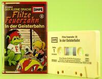 Flitze Feuerzahn 8 in der Geisterbahn Hörspiel MC Europa Kassette gelb