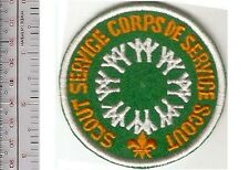 Boy Scout of Canada Service Corps 1967 Montreal World's Fair EXPO 67 Green Patch